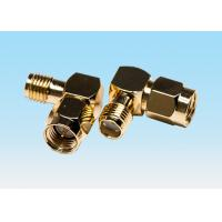 Gold Plated Curved High Power RF Connectors UL94V-0 Material Contacting PCB Board for sale