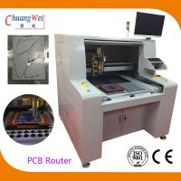 High Efficient PCB Router Machine PCB Singulation Dual workstation for sale