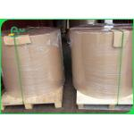China Brown Unbleached Kraft Paper , 110 - 220 Gsm Kraft Liner Board Paper for sale