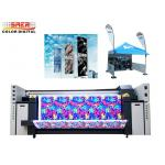 China Factory price Voltage 380V Continuous Inkjet Printer Flag Printing System 6500W Gross Power for sale