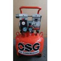Small 1100w Portable Silent Oil Free Air Compressor for Dental , Advertising Industry for sale