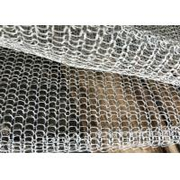 Blanket Mesh / Foil Stainless Steel Knitted Fume Filter Demister Mesh Long Lifespan for sale