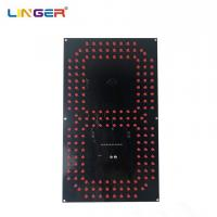 China 12 Inch LED Digital Board 7 Segment Digit Of Leds In Red Color Wide View Angle for sale