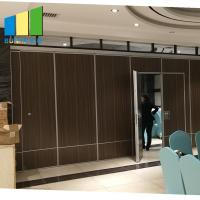 Interior Sliding Folding Doors Partition Acoustic Room Dividers For Conference Room for sale