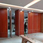 Wooden Material Operable Acoustic Folding Partition Walls For Training Center for sale