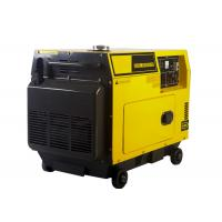 5KW AC Single Phase Power Small Portable Diesel Generator Electric Start for sale