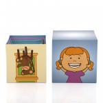 Children Educational Toy Scrapbook Photo Album Number Building Block Set