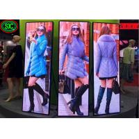 Mirror Stage Background Led Display Big Screen P2.5 Poster Video Advertising Stand for sale