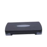 China 68cm Adjustable Step Platform For Sports , OEM Aerobic Adjustable Workout Step for sale