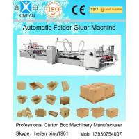 China Automatic Folder Gluer Carton Packaging Machinery 14.5KW 380V 50HZ , 3 Phase for sale