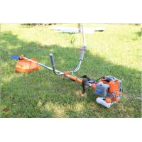 Two Stroke Petrol Strimmer Brush Cutter , Long Pole Petrol Lawn Strimmer for sale
