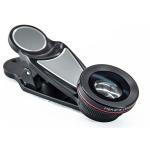China Pandora Magic Mobile Phone External Camera Lens 15x Macro 0.63 Wide Angle 198 Degree Fisheye... 6 in 1 Lens Kit for sale