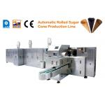 Good Quality Automatic Rolled Sugar Cone Making Machine/ Ice Cream Cone Machine / Pizza Waffle Cone Production Line