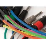 Fire Resistant PET Expandable Braided Sleeving Halogen Free For Cable Harness for sale