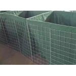 Galvanized Welded Military Gabion Box Security Military Hesco Barrier With Sand for sale
