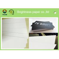 China White Coated Glossy Printing Paper Sheets For Gift Box 250gsm - 400gsm for sale