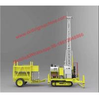 China P200 Crawler Portable Drilling Rigs Water Cooled For Geological Exploration for sale