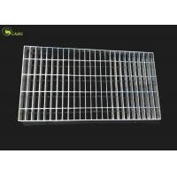 Steel Cover Mesh Galvanized Bar Grating Floor Metal Grid Plain Tread Step Stair for sale