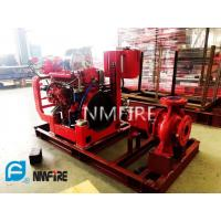 China Ul Non - Listed End Suction Fire Pump 750 Gpm@61m With NM Fire Diesel Engine for sale