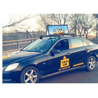 High Brightness Car Roof Top Taxi LED Display Screen Outdoor Advertising Sign P2.5 P3 P4.81 P5 Full Color 3G 4G for sale