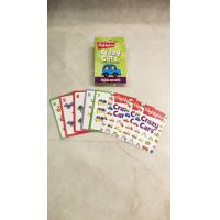 China Family Game Children'S Learning Flash Cards With Coloring Box Intelligent for sale