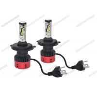 Anti Glare 4800LM 6500K LED Headlight / H4 LED Headlight Bulb For Automotive for sale