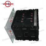 Vehicle Broad Spectrum Mobile Phone Signal Jammer 13CH DC 24V With 47dBm Each Band for sale
