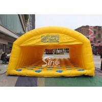 China Outdoor kids N adults inflatable obstacle rush made of best material for interactive activities or events for sale