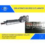 China Cardboard Flute Laminator Corrugated Cardboard Carton Making Machine for sale