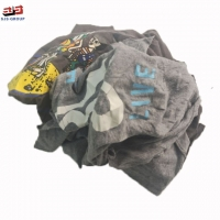 No Dirty Mixed Color 95% Cotton T Shirt Rags For Wiping