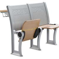 Fireproof Plywood Metal Folding Chairs For Lecture Hall With Durable Construction for sale