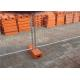 China Removable metal 2.1 * 2.4m Temporary Fencing With 2mm Thickness Pipe for sale
