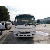 China Pneumatic Folding Door Coaster Bus Motorhome Transport 19 Seats New Color Design for sale
