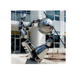 Special Metal Hand Sculpture , Outdoor Stainless Steel Garden Sculptures for sale