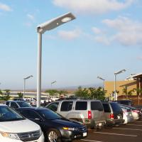 Outdoor All In One Stand-alone Commercial Integrated Intelligent Solar LED Street Lighting Robust Light Weight for sale