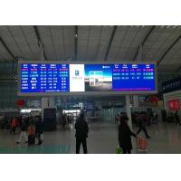 P5mm SMD2121 Indoor Advertising LED Display Or Railway Station Message Board for sale