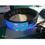 Flexible Module P 3  Indoor Led Display for irregular surface Resolution 111111p/m2 for sale