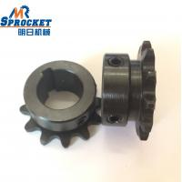 China Oxide Black Finished Bore Sprockets 35B12F 3/4 35 Chain Sprocket Small Size supplier