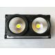 Pure White  COB LED 2 Eyes DMX Theater Stage Lighting 100 Watt / 200 Watt for sale