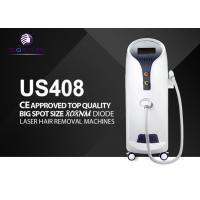 Permanent Painless Diode Laser Hair Removal Machine 56x40x108cm 10Hz Frequency for sale
