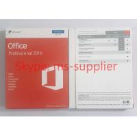China 2010 / 2013 / 2016 Microsoft Office Key Code 64 Bit Online Activation for sale