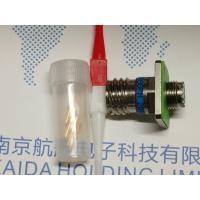 China Nickle plating crimp male pin receptaclr D38999III 20FA98PN for sale