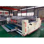 Semi Automatic Carton Box Forming  Pasting Machine  / Pressure Gluer Machine For Carton Box for sale