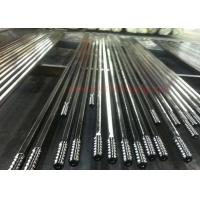 T51 4265mm Threaded Steel Rod / Drill Extension Rod Customized Length for sale