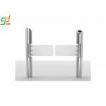 Swing Barrier Gate 8 Pairs IR Sensor Servo Motor Fast Speed Glass Arm Turnstile