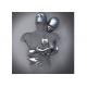 Contemporary Wall Art Design Stainless Steel Figurative Love Sculpture for sale