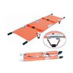 CE ISO Aluminum Alloy Rescue Folding Stretcher Medical Emergency Stretcher (ALS-SA110) for sale
