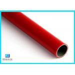 Q235 Steel Pipe PE/ABS Coated Lean Tube OD 28mm For Production Line for sale