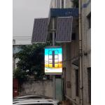 Wide Viewing Angle Pole LED Display P5 Led Module 40000 Pixel/M2 for sale