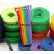Die Cut Punching Hook & Loop Fastening Cable Ties Binding Strap for sale